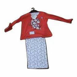 Women Casual Wear Ladies Printed Pyjama Set