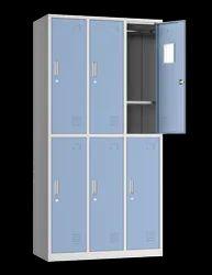 6 Compartment MS Locker