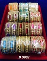 Ethnic Delhi Silk Thread Bangles, Round