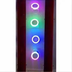 LED Fancy Multicolor Light, 5 W, Bulb
