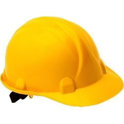 Yellow Construction Safety Helmet