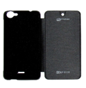 Plastic Flip Cover For Micromax Bolt Q338 Black