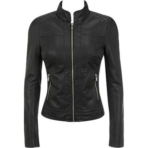 6c2ef7862a16 Women's Classic Fitted Black Leather Jacket at Rs 7499 /piece ...