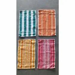 Striped Cotton Kitchen Napkin
