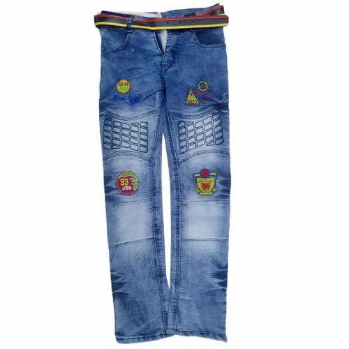 0a2b357fa6ad G-Ten Casual Wear Kids Boys Blue Designer Jeans, Rs 240 /piece | ID ...