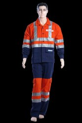 2-Piece Suit Industrial Wear 3 m Band Safari Safety Uniform 2