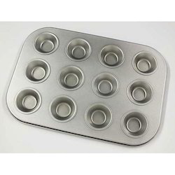 Coated Muffin Cup Cake Tray Mini