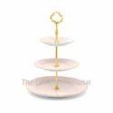 3 Tier Enamel Color Metal Cake Stand