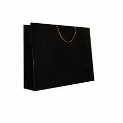 Dark Black Big Size Paper Bag