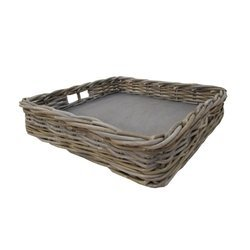 Wicker Square Tray