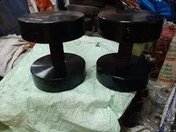 Evolution Fitness Cast Iron Steel Dumbbell Black