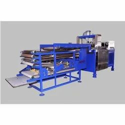 Pneumatic Type Half Cooked Chapati Making Machine