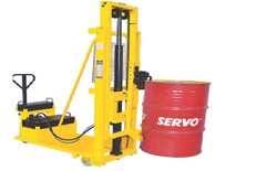 Counter Balanced Hydraulic Drum Lifter With Gripper