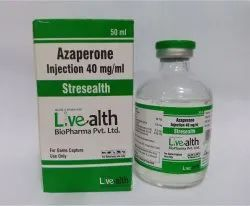 Azaperone Injection 40 mg/mL, Packaging Type: Vials
