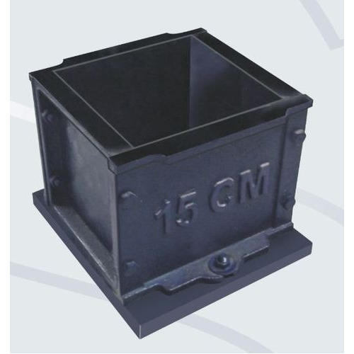 Cast Iron And Mild Steel Cube Moulds