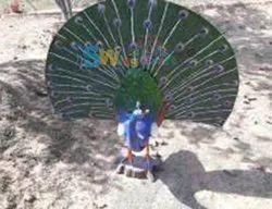 Fiber Peacock For Garden