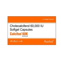 Cholecalciferol 60000 IU Capsules