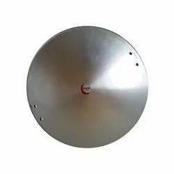 Silver Aluminum Kadai