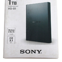 Sony HD-B1 Hard Drive