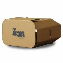 Google Cardboard VR Virtual Reality Headset Box With Bigger 42mm
