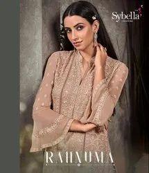 Sybella Party Wear Georgette Designer Salwar Suit