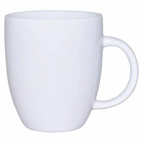 White Plain Coffee Mug Rs 50 Piece