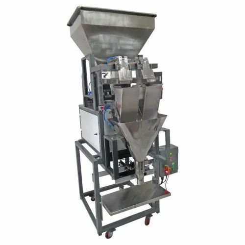 Weighing Semi Automatic Grocery Filling Packing Machine