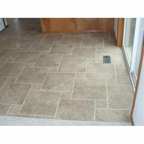 Cream Color Designer Floor Tiles Rs 25