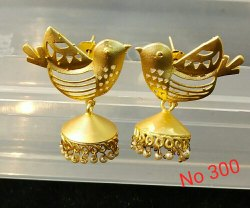 Bird Design Earrings