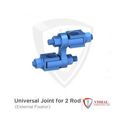 Universal Joint For 2 Rod
