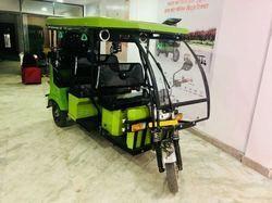 Solar Electric Rickshaw