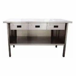 Steel Kitchen Table