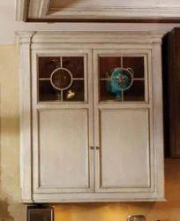 Wooden Fancy White Cabinet