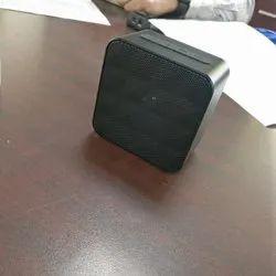 5 Watt Black Portable Bluetooth Speaker, Size: Small