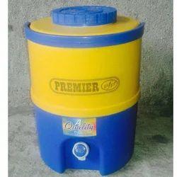 Soft Plastic Grey, Red PFP Water Camper, Capacity: 15 Litre