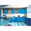 Acrylic Wooden Kitchen