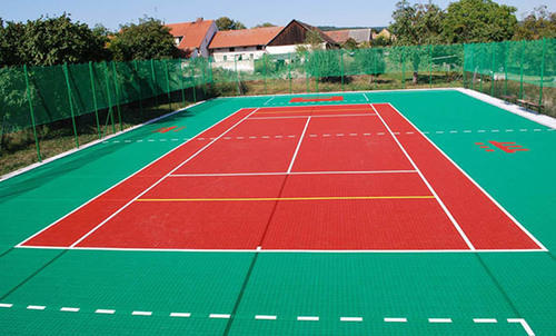 Outdoor Tennis Court Flooring Service