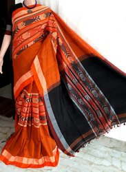 Festive Wear Cotton Silk Sarees, 6.3 m (with blouse piece)