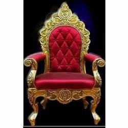 Star Red Wedding Sofa Chair