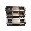 SS Commercial Double Stove 12x36x9