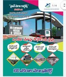 Cheque Open Plots, Donakonda, Available
