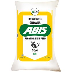 ABIS Grower Floating Fish Feed, Packaging Size: 35 Kg