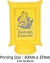 Ambuja Customized  Plastic Paper Weight
