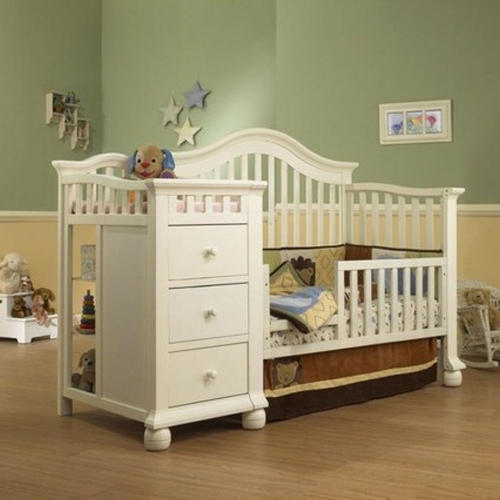 Sheesham Wood Designer Kids Storage Cot Bed, Warranty: 3 Year
