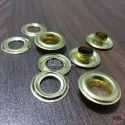No. 26 (10mm) Brass Eyelets & Washers Golden
