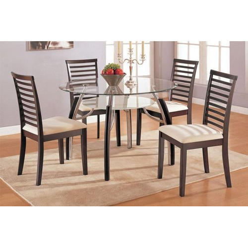 851d94046c 4 Seater Round Dining Table at Rs 30000 /4 chair set | Round Dining ...