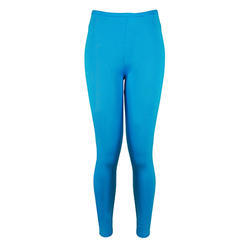 Ladies Plain Cotton Lycra Casual Ankle Length Legging