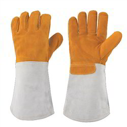 Leather Kevlar Heat Resistance Gloves