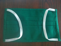 Unique Cotton Green reusable Nose Masks