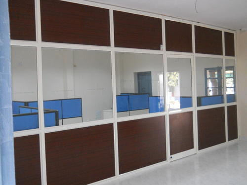 Aluminum Partition At Rs 175 Square Feet Gunrock Enclave